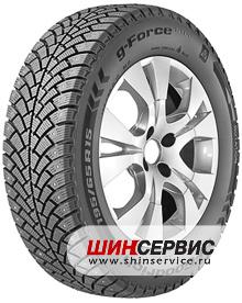 Зимние шины BFGoodrich g-Force Stud 215/65 R16 102Q в Москве и области, купить в интернет-магазине – цены и размеры шин g-Force Stud от ШинСервис
